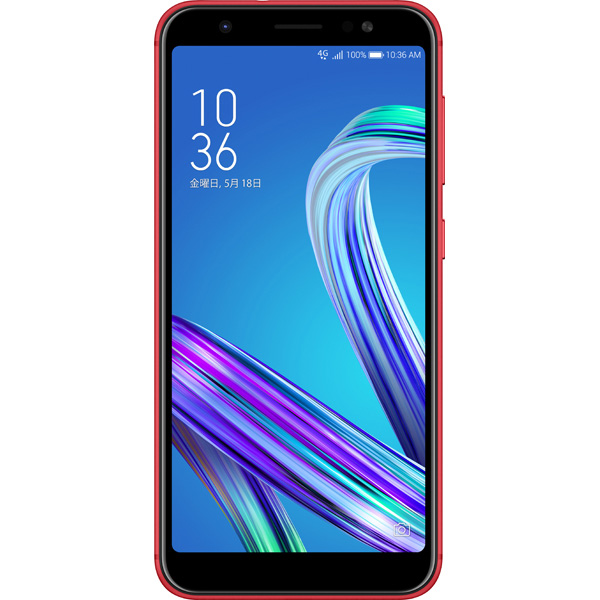 Zenfone MAX M1 (Android8.0 / SnapDragon430 / 大容量4000mAhバッテリー搭載 ) ZB555KL-RD32S3