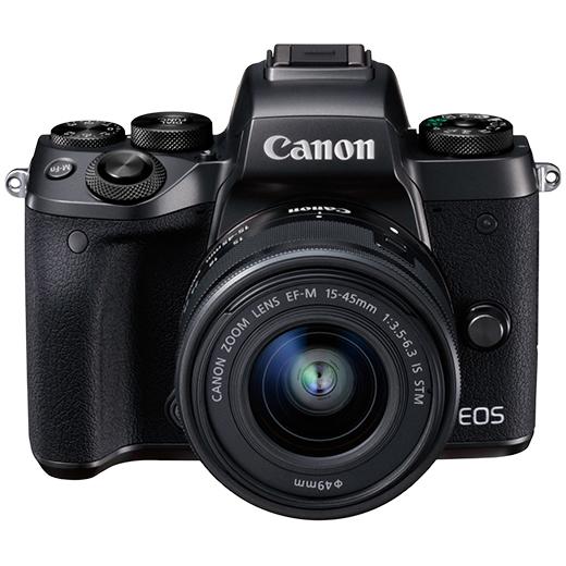 ミラーレスカメラ EOS M5・EF-M15-45 IS STM レンズキット