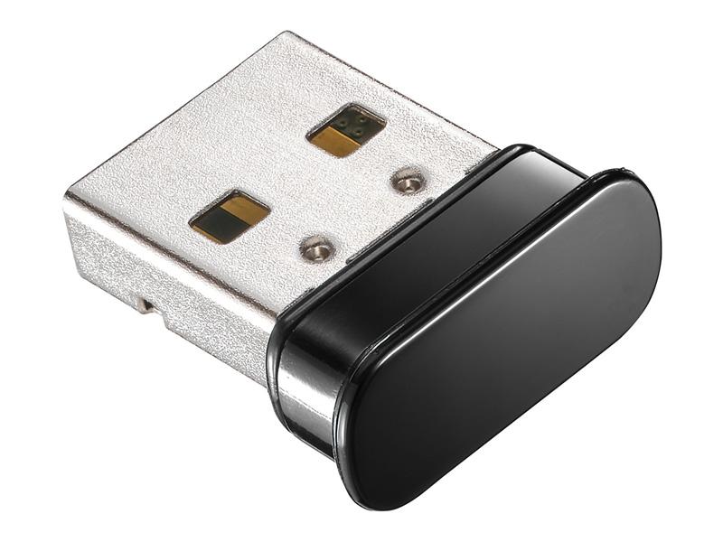 IEEE802.11n/g/b準拠 150Mbps(規格値)超小型Wi-Fiアダプター